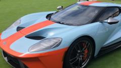 福特和海湾已经联手提供了限量版的GT超级跑车