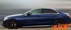 国产奔驰C 450 L AMG Sport最新谍照