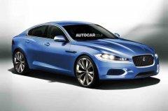 捷豹新款小型轿车曝光 预计明年底发布