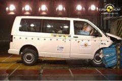 大众T5迈特威获Euro-NCAP四星安全评级