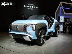 2019东京车展:三菱MI-TECH概念车首发