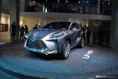 雷克萨斯LF-NX概念车 亮相法兰克福车展