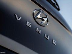 现代Venue预告图曝光 将纽约车展发布