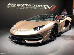 日内瓦车展:Aventador SVJ敞篷版亮相