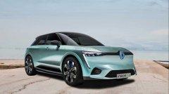 雷诺新纯电跨界SUV假想图曝光 有望2021年发布/续航600km