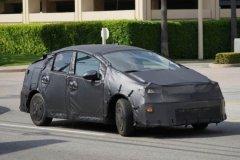 新一代丰田普锐斯曝光 将在2015年发布