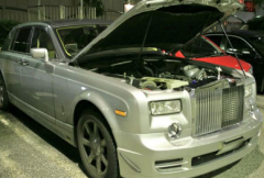 劳斯莱斯幻影获得900马力的丰田Supra发动机