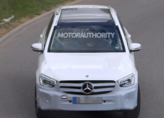 即将面世的2021年梅赛德斯-奔驰GLC这次将进行一次小改款
