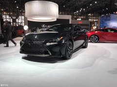 纽约车展:雷克萨斯RC黑色特别版亮相