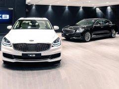 2018纽约车展:起亚全新一代K9正式发布