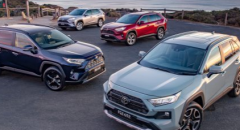 丰田澳大利亚确保RAV4混合动力供应的增长