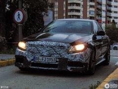 新款奔驰AMG C63谍照曝光 搭4.0T发动机
