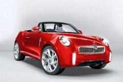 新款MG敞篷跑车假想图曝光 或2015年上市