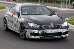 宝马M6 Gran Coupe谍照曝光 明年夏上市