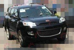 吉利7座SUV 帝豪EX825谍照进一步曝光
