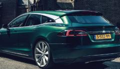 特斯拉Model S转变为惊人的射击刹车