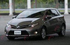 丰田全新一代Auris实车首曝 将引入国产