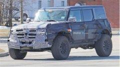 外观霸气,动力强劲,福特Bronco高性能版本谍照曝光