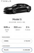 特斯拉对Model S Plaid国内起售价进行上调